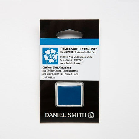 Daniel Smith Extra Fine Watercolor Half Pan - Cerulean Blue, Chromium