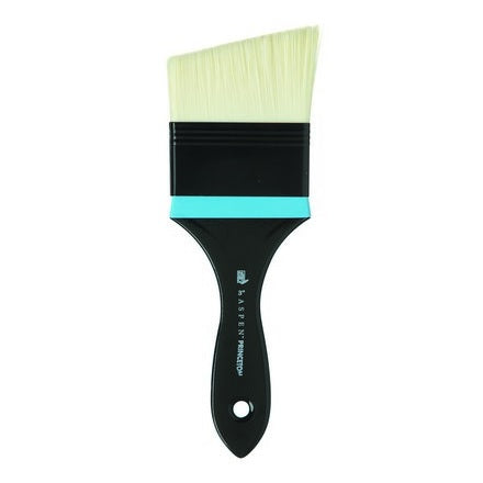 Princeton 6500 Aspen Oil Brush - Angular Mottler Brush 3""