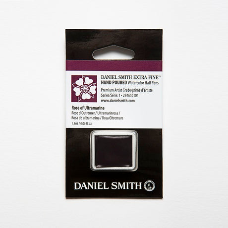 Daniel Smith Extra Fine Watercolor Half Pan - Rose of Ultramarine
