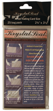Krystal Seal Bags ATC Size 2.5X3.5 - 25 Pack