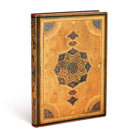 "Paperblanks Flexi Safavid Midi 5""x 7""  Unlined -  240 Pages"