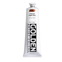 Golden Heavy Body Acrylic Iridescent Copper (fine) 5 oz