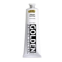 Golden Heavy Body Acrylic Iridescent Gold (fine) 5 oz