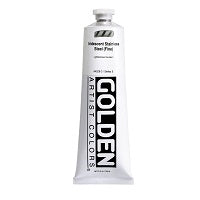 Golden Heavy Body Acrylic Iridescent Stainless Steel (fine) 5 oz