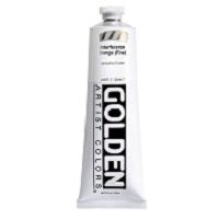 Golden Heavy Body Acrylic Interference Orange (fine) 5 oz