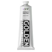 Golden Heavy Body Acrylic Interference Violet (fine) 5 oz