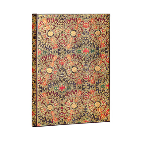 "Paperblanks Journal - Fire Flowers Unlined Grande 8.25"" X 11.75"" - 128 Pages"