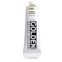 Golden Heavy Body Acrylic Iridescent Gold (Coarse) 5 oz