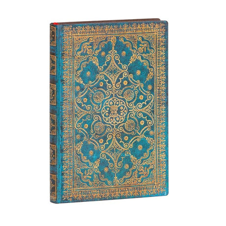 "Paperblanks Flexi Azure Mini 3¾""x 5½"" Unlined - 240 Page Count"