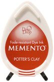 Memento Dye Ink Pad - Dew Drop Potters Clay