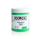 Golden Heavy Body Acrylic Fluorescent Green 4 oz