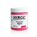 Golden Heavy Body Acrylic Fluorescent Magenta 4 oz