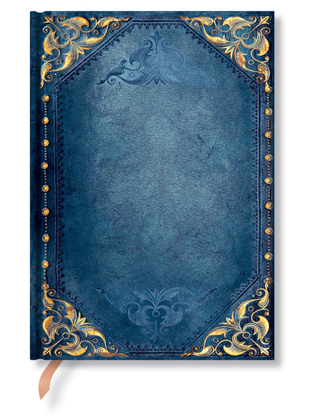 "Paperblanks Journal - Peacock Punk Midi Unlined 5"" X 7"" , 144 pages"