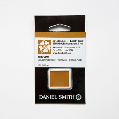 Daniel Smith Extra Fine Watercolor Half Pan - Yellow Ochre