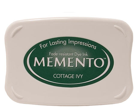 Memento Dye Ink Pad - Cottage Ivy
