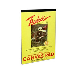Fredrix Real Canvas Pad 14X18