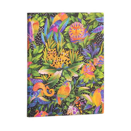 "Paperblanks Flexi Jungle Song Ultra 7""x 9""  Unlined -  176 page"