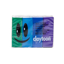 Van Aken Claytoon Clay Cool Set - Blue, Green, Sky, Violet