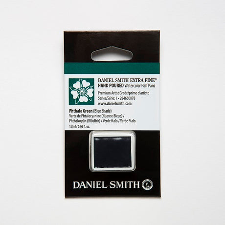 Daniel Smith Extra Fine Watercolor Half Pan - Phthalo Green (Blue Shade)