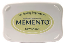 Memento Dye Ink Pad - New Sprout