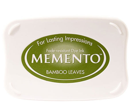 Memento Dye Ink Pad - Bamboo Leaves