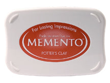 Memento Dye Ink Pad - Potters Clay