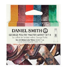 Daniel Smith Watercolor 6 Color George Politis' Master Artist Set #1 (6 X 5ml tubes)