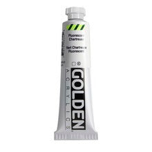 Golden Heavy Body Acrylic Fluorescent Chartreuse  2 oz
