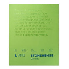 Stonehenge White Drawing Pad 11x14