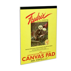 Fredrix Real Canvas Pad 16X20