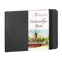 "Hahnemuehle Akademie Watercolor Paper Book 4.1"" x 5.8"" - Landscape"