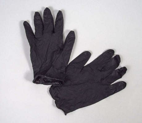 Grafix Edge Vinyl Gloves Black 10 Pack