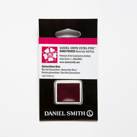 Daniel Smith Extra Fine Watercolor Half Pan - Quinacridone Rose