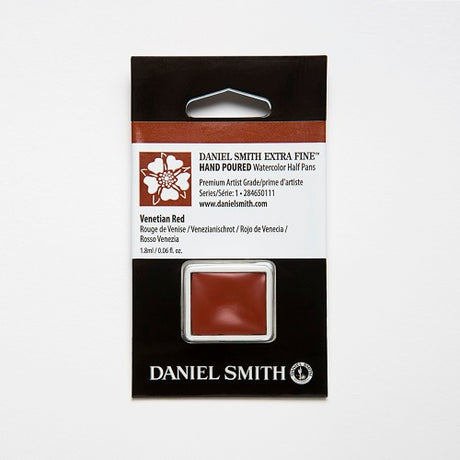 Daniel Smith Extra Fine Watercolor Half Pan - Venetian Red