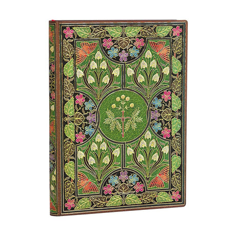 "Paperblanks Flexi Poetry in Bloom Midi 5""x 7""  Unlined -  240 Pages"