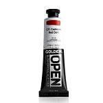 Golden OPEN C.P. Cadmium Red Dark 2 oz  (Prop 65 WARNING!)