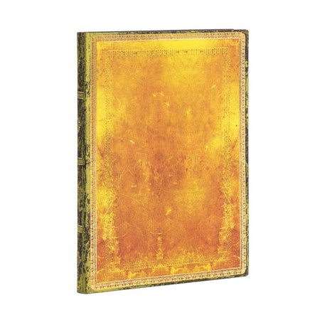"Paperblanks Flexi Ochre Midi 5""x 7""  Unlined -  176 Pages"