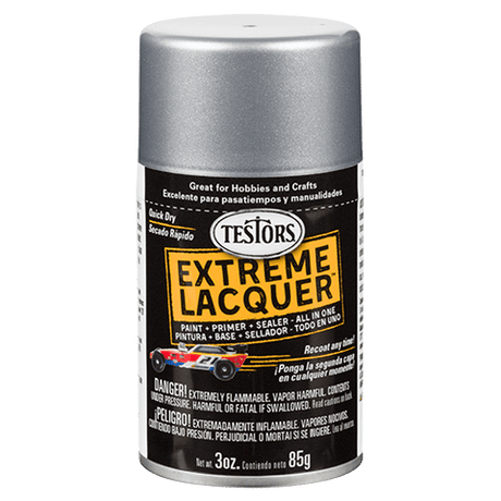 Testors Extreme (one coat) Spray Lacquer 3 oz - Diamond Dust (ORM-D)