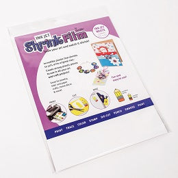 "Grafix InkJet Shrink Film - White  8.5"" x 11"" -  6 sheets"