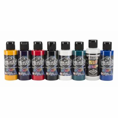 Wicked Multi-Surface Airbrush Colors  - Sampler Set #2