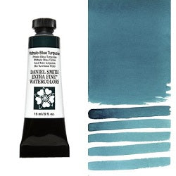 Daniel Smith Extra Fine Watercolor - Phthalo Blue Turquoise 15 ml (New color for 2020)
