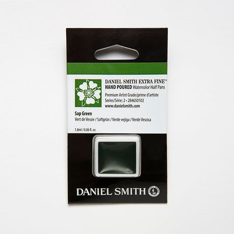 Daniel Smith Extra Fine Watercolor Half Pan - Sap Green
