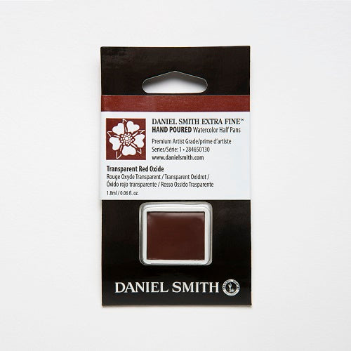 Daniel Smith Extra Fine Watercolor Half Pan - Transparent Red Oxide