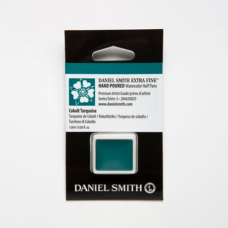 Daniel Smith Extra Fine Watercolor Half Pan - Cobalt Turquoise