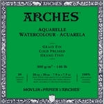 "Arches Watercolor Block - Cold Pressed 140 lb  7.9"" x 7.9"" (20 Sheets)"