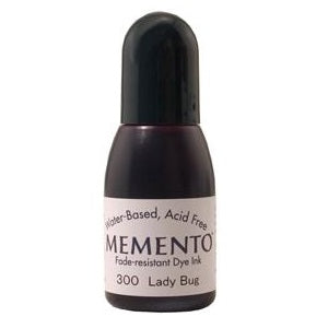 Memento Ink Refill .5 fl oz - Lady Bug