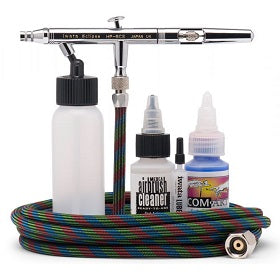 Iwata Eclipse  HP-BCS Airbrush Value Set (With Bottle & Airhose)