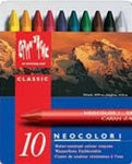 Caran d'Ache Neocolor I (Water Resist) Artist Crayons - set of 10