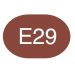 Copic Sketch Marker E29 Burnt Umber
