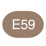 Copic Sketch Marker E59 Walnut
